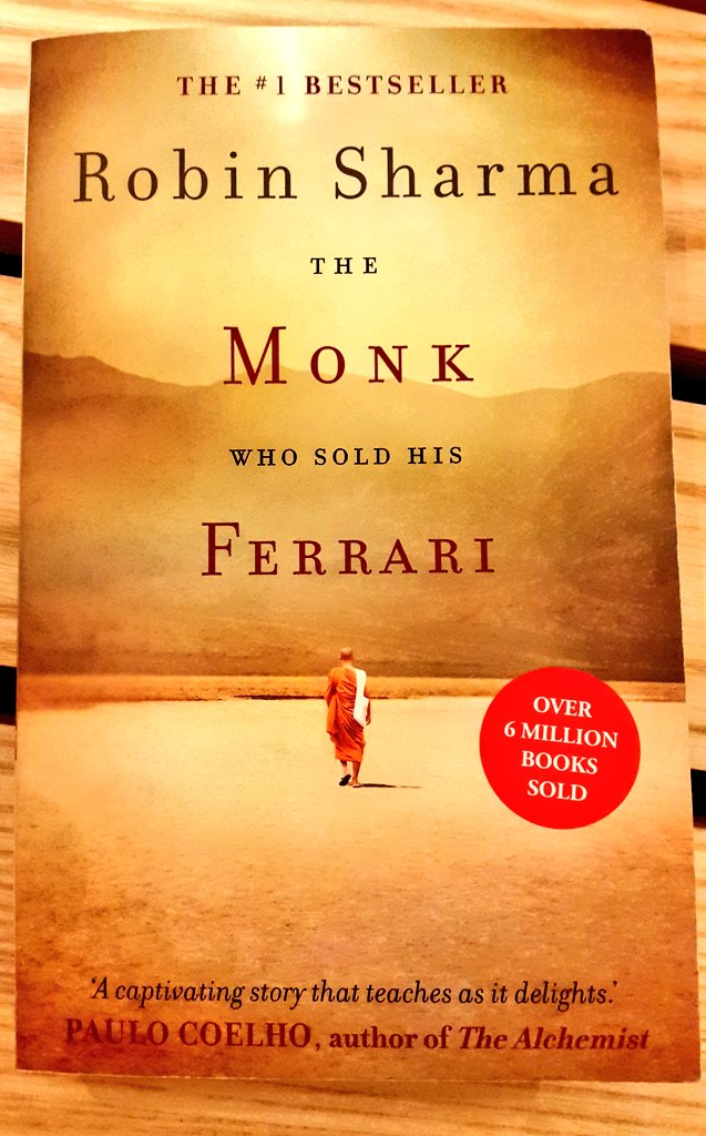 "Introducing ""The monk who sold his Ferrari"" 